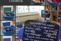 Music Classroom / Great ideas to incorporate into the day job. / by Jennifer Trupo