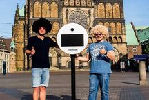Ab jetzt in Bremen :) #knipskugel #bremen #fotobox #photobooth #fotoautomat