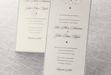Tall & Thin Invitations / by B Wedding Invitations