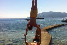 Workout / Workout ; Alonnisos;  beach Greek Island
