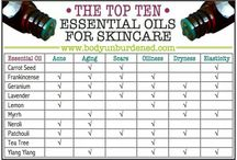 Young Living Skin & Hair Care / All about anti aging oils to use for our skin, find out what to use for the different skin types.