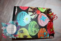 Scrapbooking album / Album fotografici realizzati utilizzando le tecniche scrap.  Photo Albums made ​​using scrap techniques .