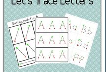Alphabet: Handwriting / Writing activities for my kiddos. / by Zookeeper
