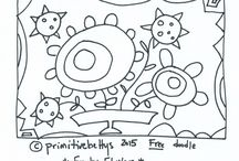 Primitivebettys Free Doodles and Patterns!