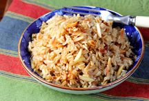 Rice, Pilaf, Dishes with Rice  / by Diane Willis