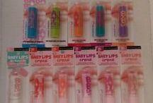 Baby lips a ostatní / Baby lips jsou nej!!!!