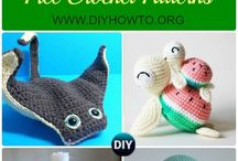 crochet animals.