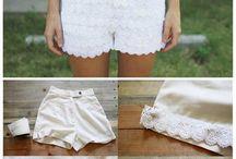customização de roupas / by Celia Regina Clemente de Castro