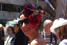 Hat Parade Event - Barcelona (April - 2014) / A creative cultural event, that celebrated it's 10th edition, bringing hat lovers together (anyone can participate).