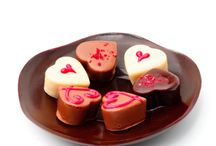 Heart-shaped pastries / the most various and colorful heart-shaped cakes!