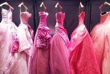 Red to Blush: Vera Wang Bridal / Vera Wang Wedding Gowns | Pink, blush, and Red | 2013 and 2014 Bridal collection