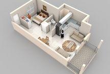 Plan petite maison de plein pied