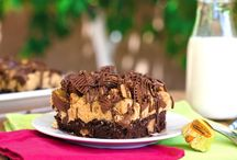 Peanut butter cup brownie