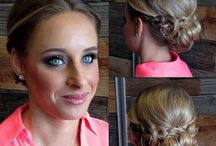 Cindy's Wedding / Bridal  hair styles, wedding accessories / by Daily Dribbles