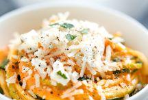 Zuchinni Noodles