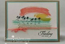 Work of Art Stampin' Up cards