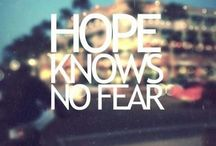 "2013 Word of the Year: ""HOPE"""