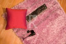 Shaggy / Contemporary , Fun , Casual these are the qualities that best define this quality. Though this quality is available throughout the market the ones we make are slightly different. Our shaggy rugs are dense , high pile and soft under the feet. We double was the polyester to give it very lush and luxurious look.