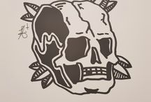 My flash / My Personal Traditional Tattoos drawings, not an artist just enjoy making them.