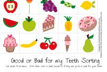 Kids teeth health activity