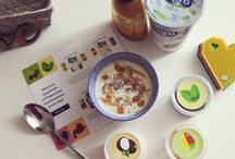#AlproTops Challenge / I took part in a 5 day challenge with Alpro to incorporate their big pot yogurts into my diet, and jazz them up with a different topping each day!