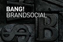 BRAND SOCIAL by Bang! / Social Media Projects by Bang! #branding #cool #marketing #digital #media #social #trend