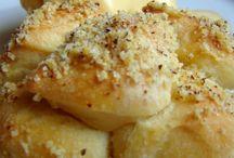 aranygaluska muffinformában sütve