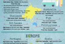 Surfing Infographics