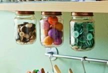 HANDIG!! / Van die kleine, soms te simpele oplossingen, om iets op te ruimen.