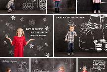 weihnachtsfotos familie