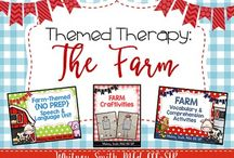 Speech Therapy Themes