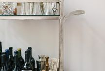 TREND WATCH: Bar Carts, Gold Accents, Bold Color / by Amanda Henderson @Cultivate Create