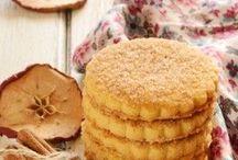 biscoito de maçã