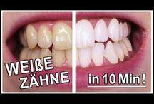 weißer Zähne