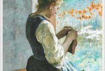 Maleri strikking