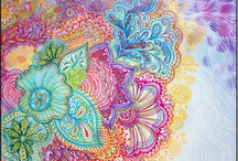 zen tangle art
