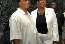 The Honorable Minister Farrahkhan Visits the National Civil Rights Museum / August 20, 2015, the honorable Minister Farrakhan toured the National Civil Rights Museum. Such an honor.