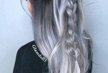 cabellos plateados