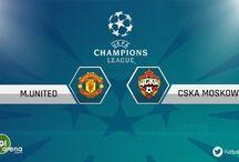 Manchester United - CSKA Moskova maçı canlı izle