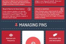Pinterest / Raccolta di infografiche e altro materiale su Facebook.