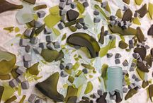 Electroformed Sea Glass