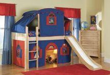 Boys bedroom ideas / by Adina Kilpatrick