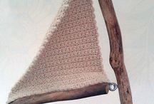 crochet driftwood sailboats