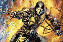 Scorpion o Mortal combad