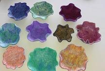 Art Lessons-Clay & Ceramics / by Kim Thaxton