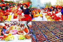 #เที่ยวเกาหลี Seoul Kimchi Making & Sharing Festival