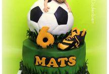 Futbol cakes