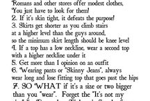 Modesty Tips / modesty is important, modesty tips, modest, modest fashion, dressing modestly, modesty tips, modesty tricks, modesty resources, how to dress modestly, tips for dressing modestly