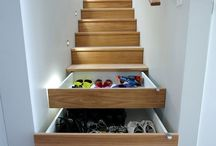 organize / better use of space to avoid clutter