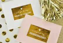 Wedding Party Ideas / Wedding Party Gifts and Ideas For Asking People To Be In Your Wedding